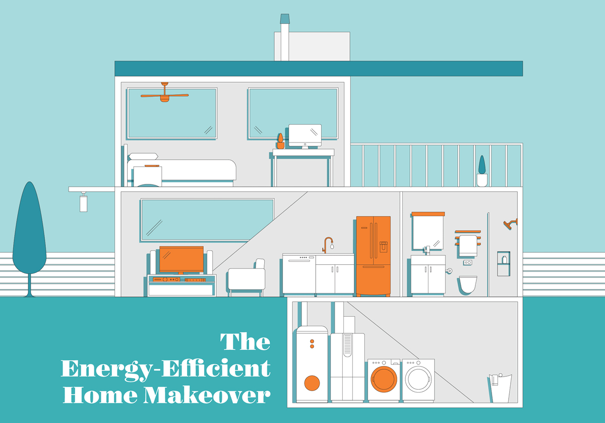 The Energy-Efficient Home Makeover